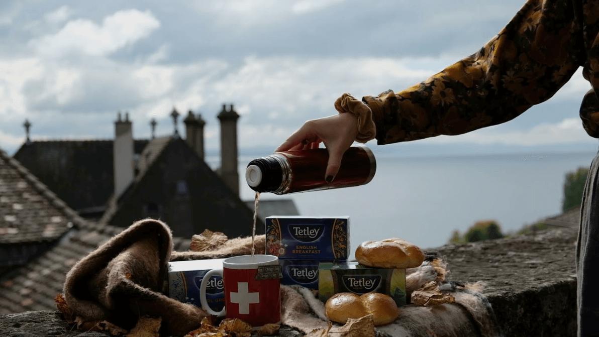 Tetley tea time